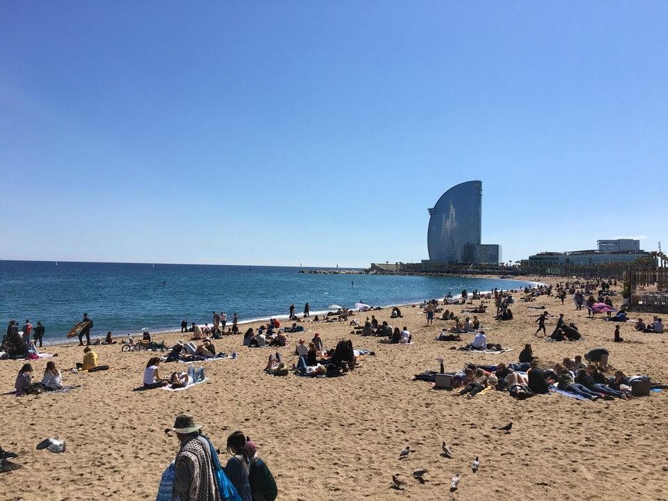 barcelona plaja yakın oteller