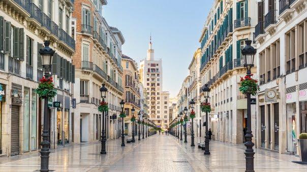 Calle Larios , Malaga