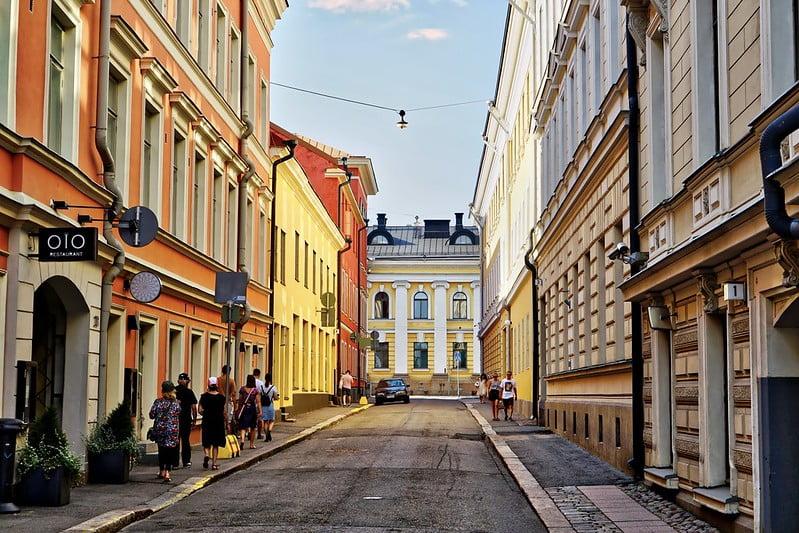 Helsinki Sokakları