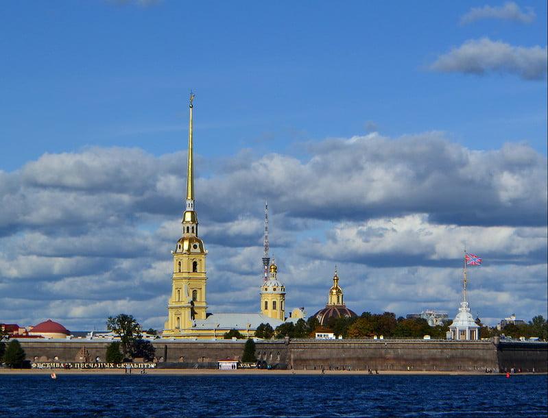 Peter ve Paul Kalesi, St. Petersburg
