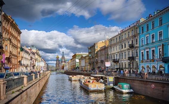 Kanallar Şehri : St. Petersburg