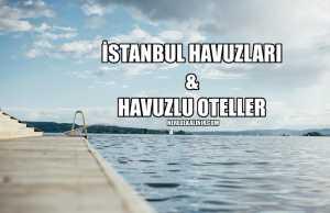 istanbul'daki havuzlar
