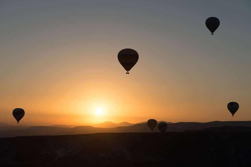 kapadokya gün batımı