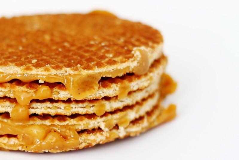 amsterdam'dan ne alınır hollanda waffle'ı
