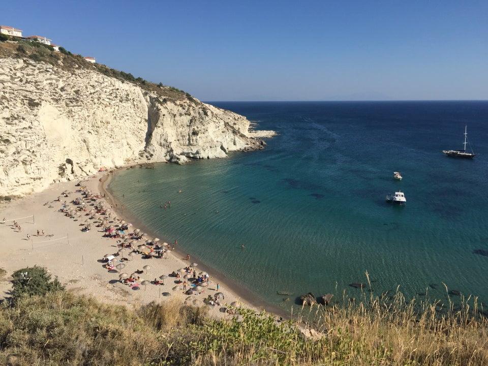 kleopatra koyu alaçatı plajları