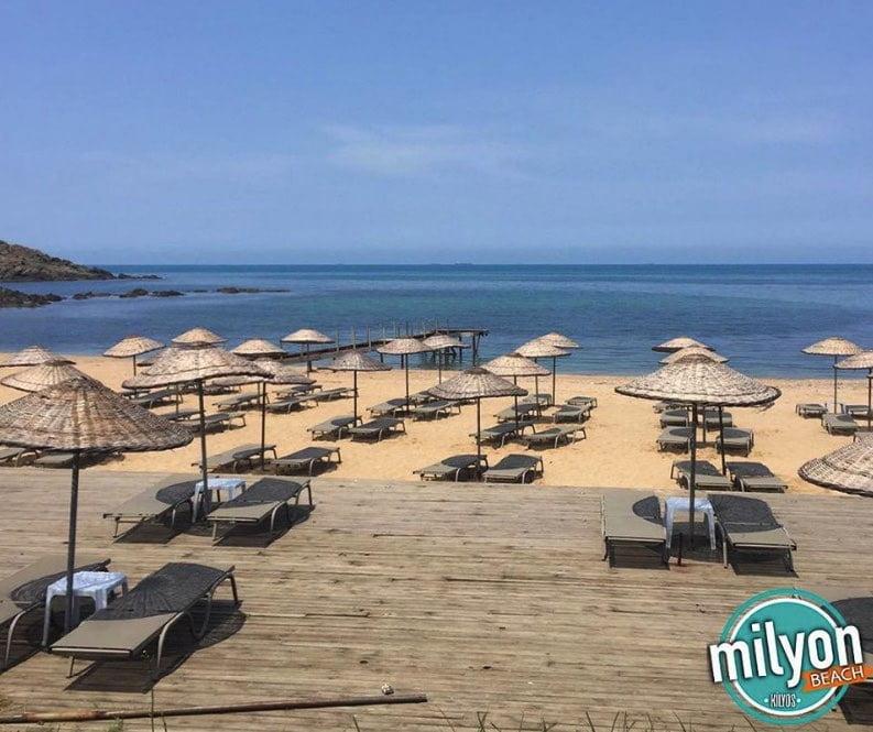 milyon beach kilyos